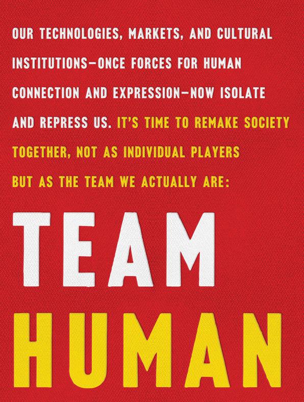 TEAM HUMAN BOOK