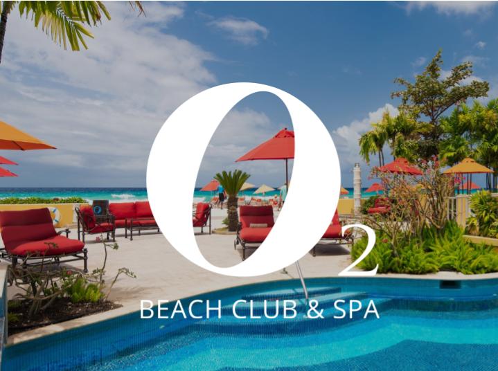 O2 Beach Club & Spa Logo