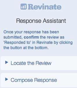 Revinate response assistant
