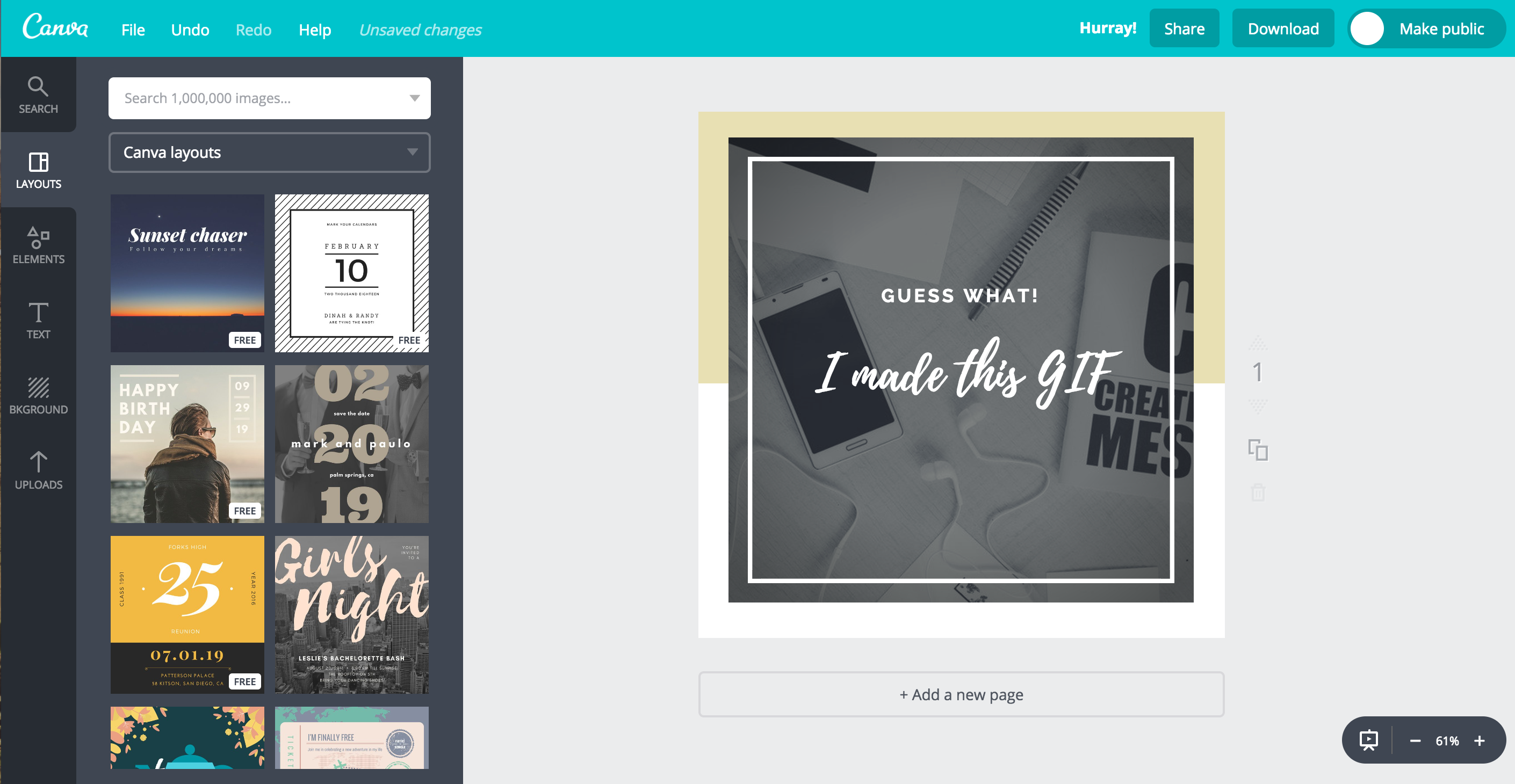 Canva GIF screenshot